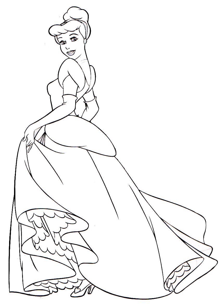 Dibujos Para Colorear De La Cenicienta Gratis ~ Ideas Creativas ...