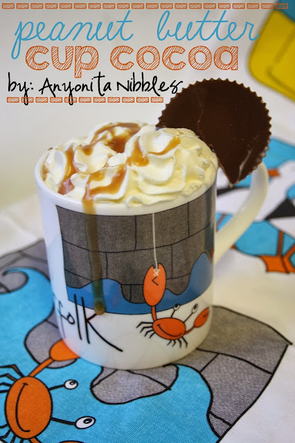 8 Last Minute Christmas Treats: Peanut Butter Cup Cocoa from Anyonita-Nibbles.co.uk