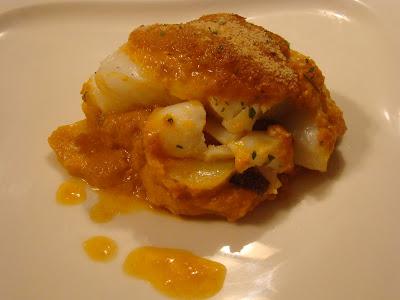 Pescados mijesan bacalao al horno a la michel for Como cocinar bacalao al horno