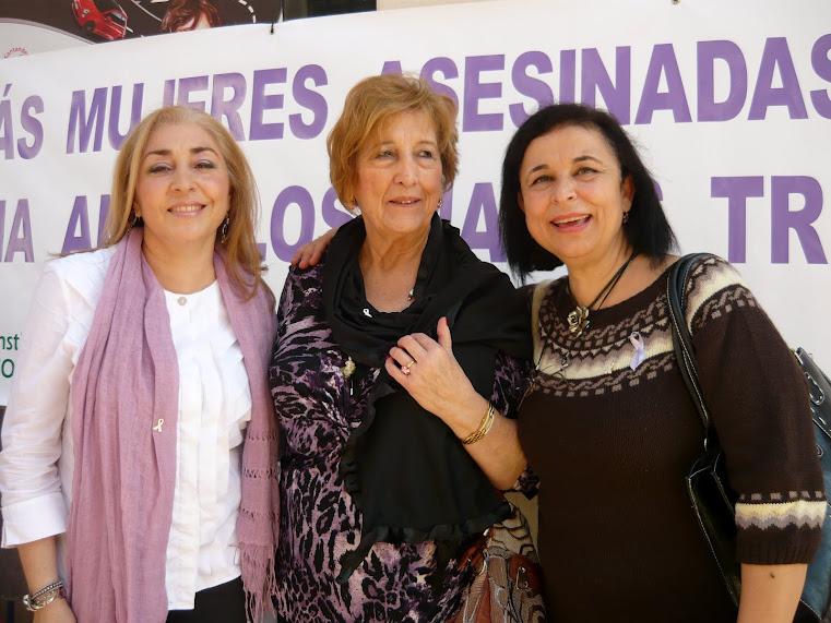 25 Noviembre Día Internacional contra la violencia machista en calle Larios