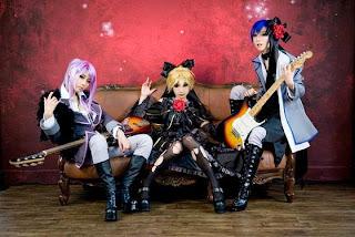 Vocaloid Imitation Black Len-Kaito-Gakupo cosplay by Tasha-Ren-Ricu