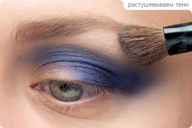 Как сделать чтобы тени на глазах не осыпались