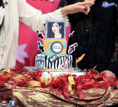 Mahira Khan Celebrate Her Birthday With Sanam Balouch At The Morning Show Today!