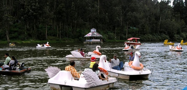 Boating Ride in Ooty