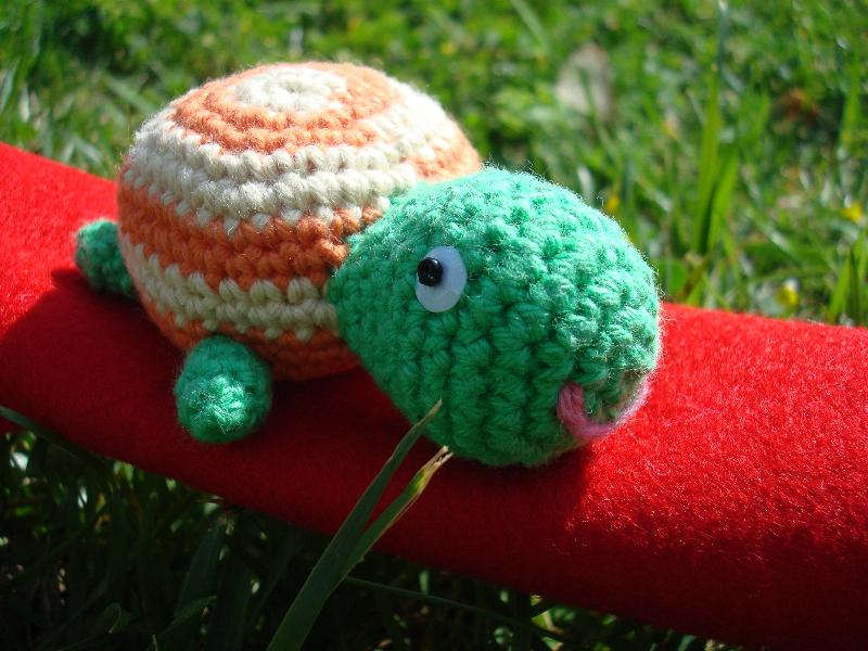 Amigurumi Tortuga Tutorial : Amigurumis And Crochet Broche Tortuga Rachael Edwards