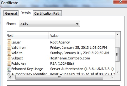 Sql blogs january 2013 the subject should also show the valid fqdn name once we have validated it we can use this certificate to yadclub Image collections