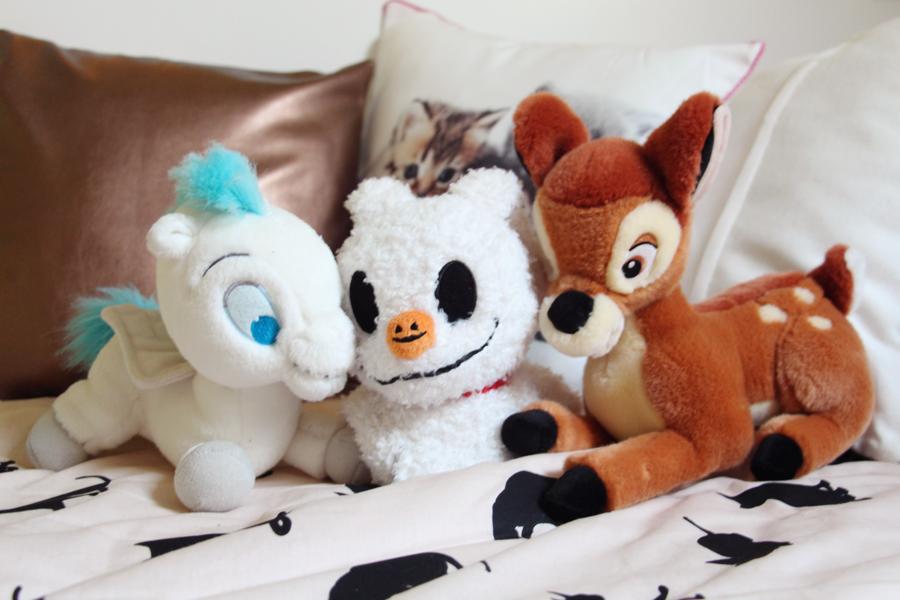 peluches Disney Pegase Zero Bambi