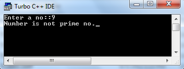 c program to check number is prime or not