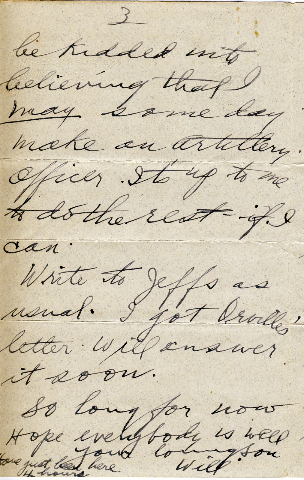 More Letters From World War One August 11 1916 London