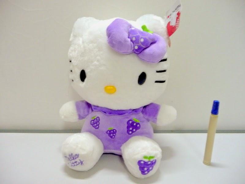Gambar boneka hello kitty ungu lucu banget
