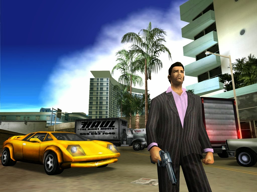 Gta Vice City Highly Compressed PC Game Free Download