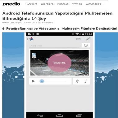 onedio com - android telefon ile yapılanlar