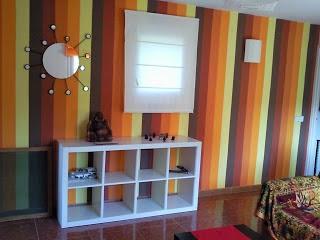 Rayas verticales o rayas horizontales para la pared - Paredes a rayas verticales ...