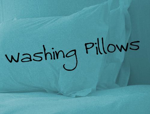 can you machine wash memory foam pillows