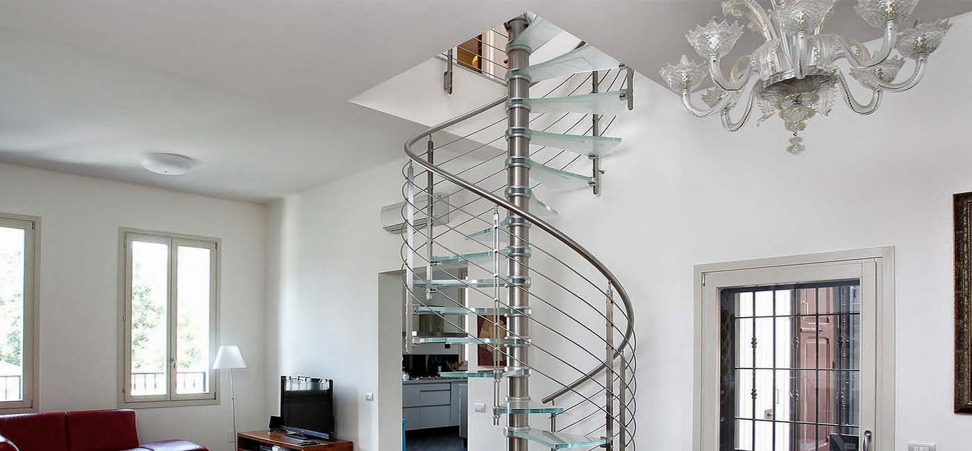 интересно стълбище