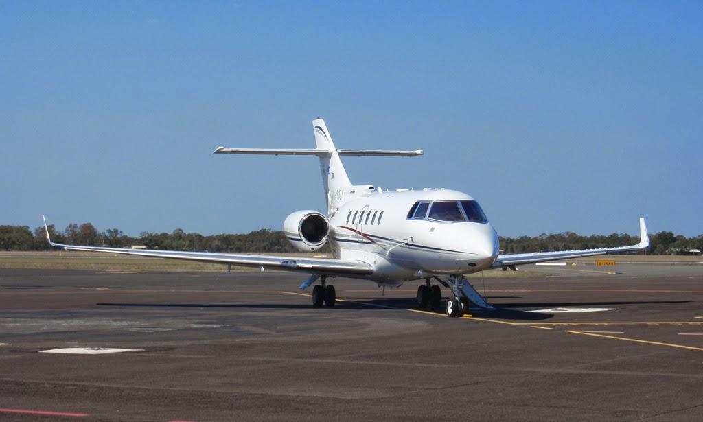 Central Queensland Plane Spotting: A Couple of Beaut Bizjets Pop ...