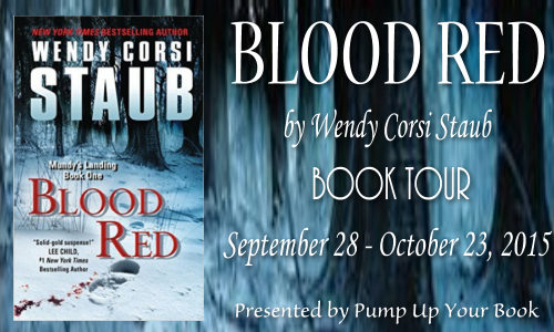 Im Shelf Ish Blood Red By Wendy Corsi Staub Book Feature