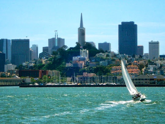 Photo from San Francisco skyline taken from the water