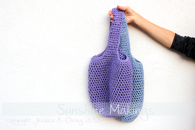 Crocheted Market Bags