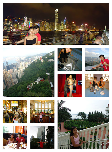 Lady and Ed Unguided Tour in Hongkong