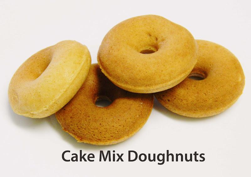 Cake mix doughnut recipe