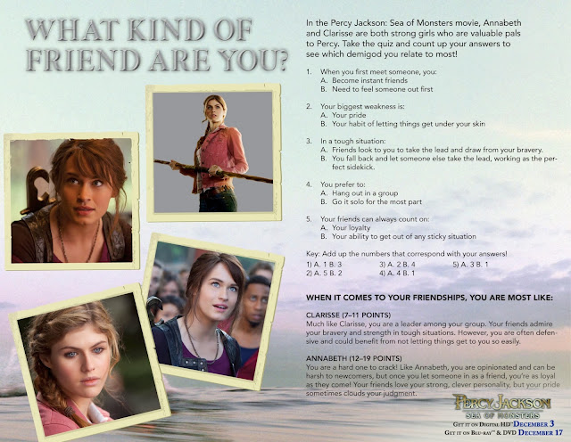 Percy Jackson Worksheets