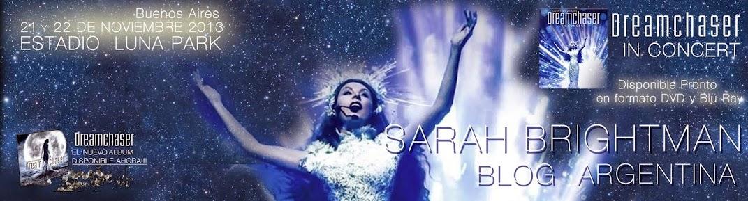 Sarah Brightman Blog Argentina