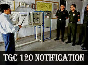 Indian army tgc 118 notification