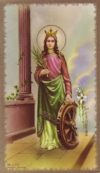 ST. CATHERINE OF ALEXANDRIA, Victorious defender of the FAITH and PURITY