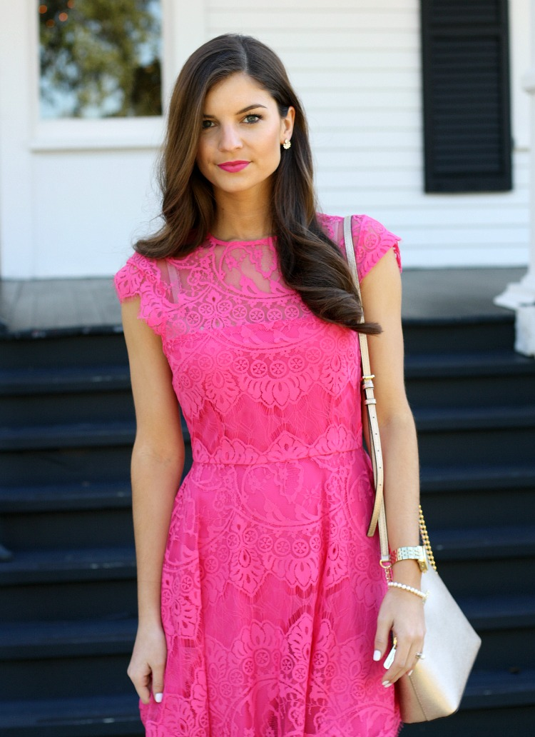 Chasing Abigail Lee : Pink Dress Perfection