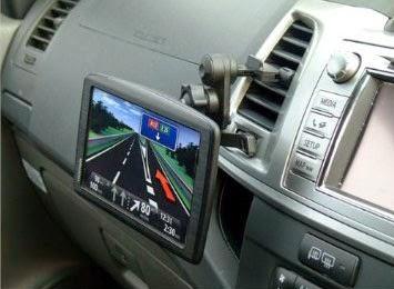 TomTom VIA 1500TM 5.0 in Car