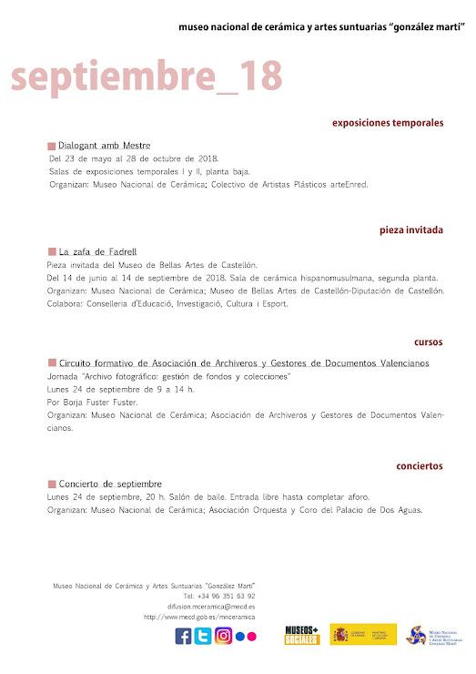 ACV 04, MUSEO GLEZ MARTÍ (01 al 30 de Septiembre 2018)