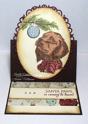 Stamps - North Coast Creations Santa Claws, Santa Paws