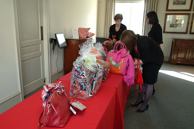 Some of the auction items donated by local businesses and organizations for the 2012 Red Hot Silent Auction