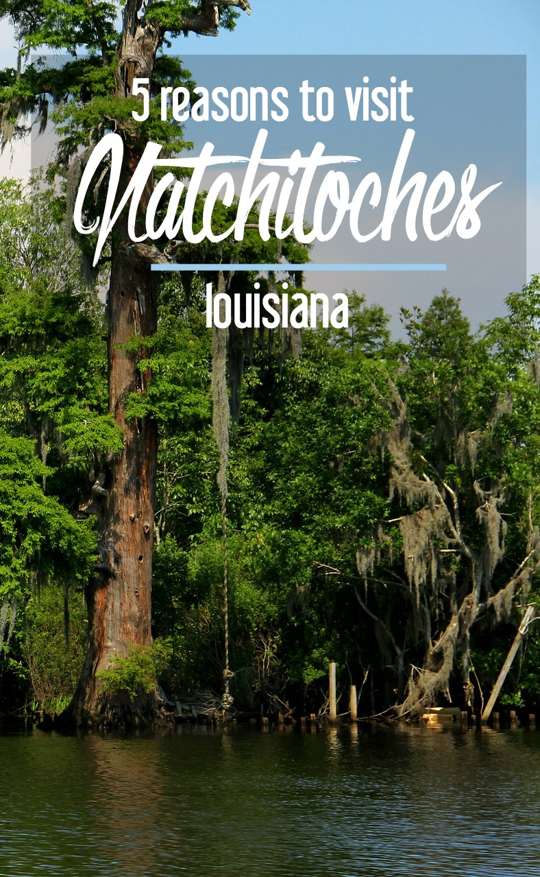 Five of the many reasons to visit natchitoches louisiana for Beau jardin natchitoches la