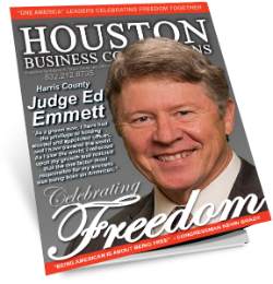 "MEET HARRIS COUNTY JUDGE ED EMMETT ONE OF OUR ""THOUGHT LEADER"" FOR THIS SERIES"