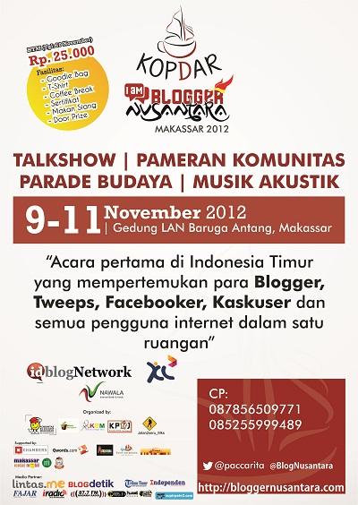 Kopdar Blogger Nusantara 2012