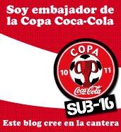 Embajador de la Copa Coca-Cola.
