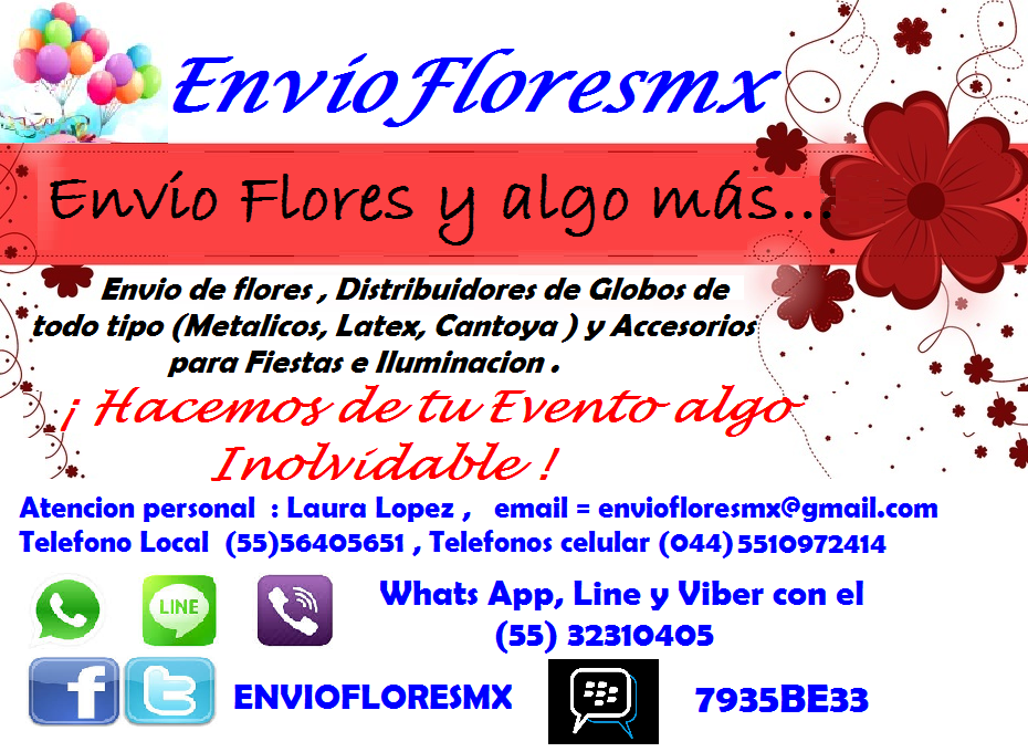 ENVIO DE FLORES MEXICO