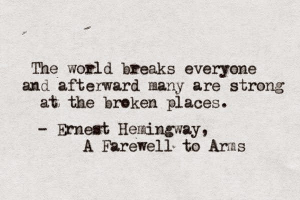 "Structure of ""A Farewell to Arms"" by Ernest Hemingway Essay Sample"