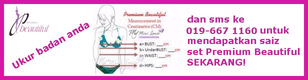 Premium Beautiful: Ukur Badan Anda!