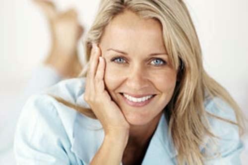 Mujer saludable a los 40 años