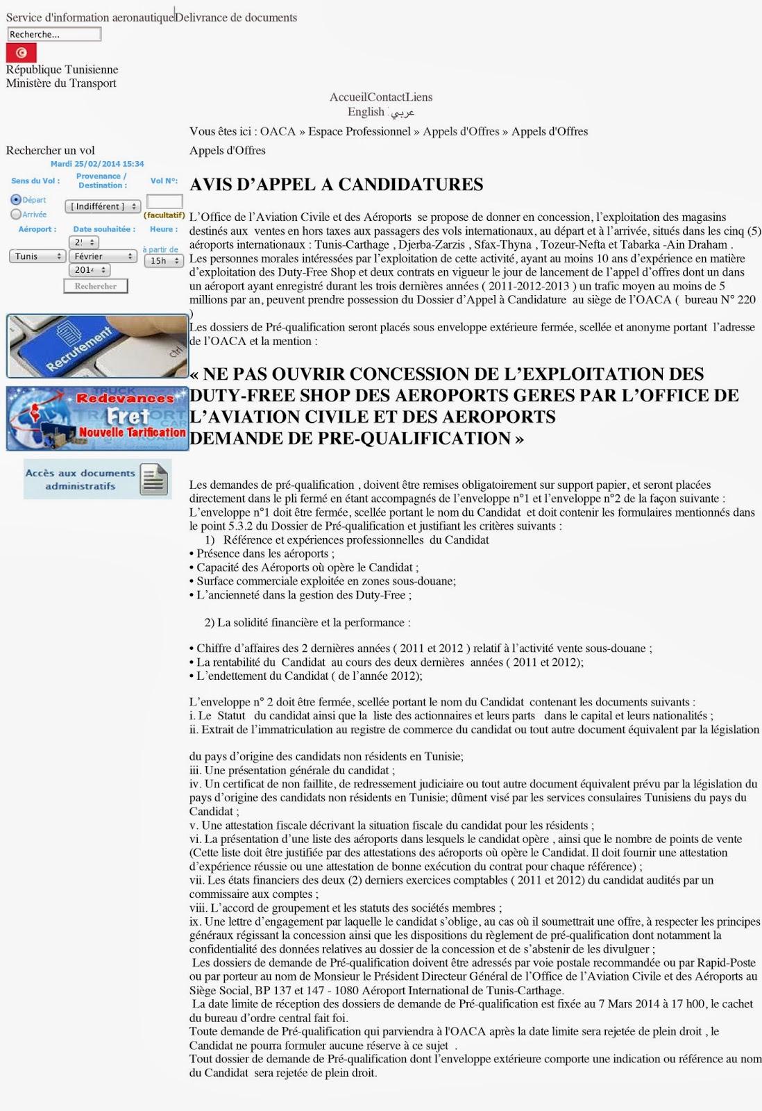 marché public truqué Tunisie