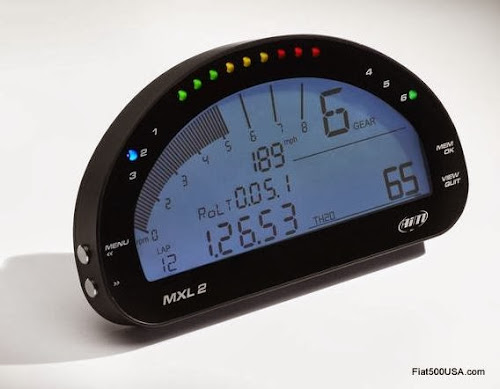 Abarth 695 biposto data logger