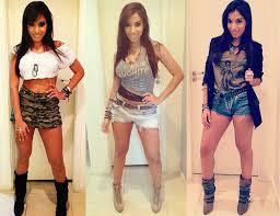 looks da cantora MC Anitta