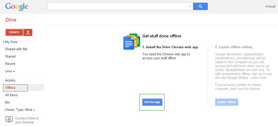 How to use google spreadsheet offline accounting education for Google docs app for windows