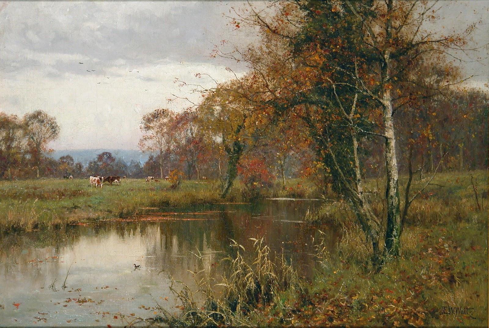 Victorian British Painting: Edward Wilkins Waite