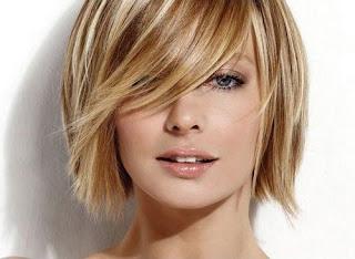 stylish hair style, ladies hair cut, cute hair cut