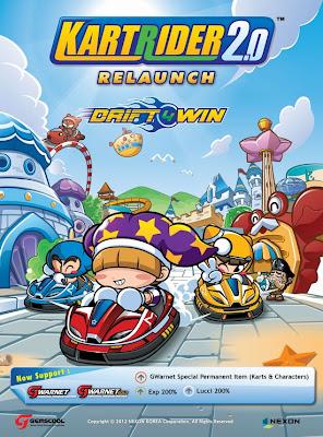 Relaunch Kart Rider 2.0 Terbaru
