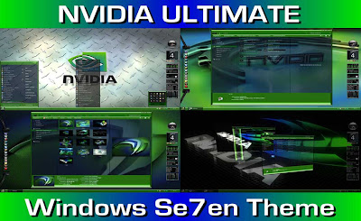 NVIDIA THEME WINDOWS 7 TERBARU COOL